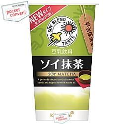 キッコーマン飲料豆乳飲料 ソイ抹茶200mlカップ 12本入(紀文 SOY)