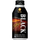 サントリー BOSS ボスシルキーブラック400gボトル缶 24本入 〔SILKY BLACK〕【楽ギフのし】【RCP】【HLSDU】
