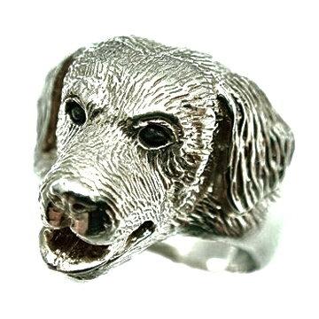 ゴールデンレトリバー/犬/シルバー925/リング/指輪/ドッグ/Dog/ring/犬リング/イヌリング/Silver925 ゴールデンレトリバー/犬/シルバー925/リング/指輪/ドッグ/Dog/ring/犬リング/イヌリング/Silver925有効