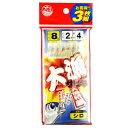 【10/1最大P44倍!】タカミヤ 大漁サビキ JI-104 針8号-ハリス2号 白スキン(東日本店)