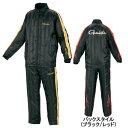 【訳あり 売り尽し50%OFF】がまかつ(Gamakatsu) トレーニングウォームスーツ GM−3401 M ブラック/ゴールド(ss12wear)