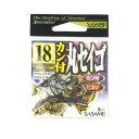 ささめ針(SASAME) カン付丸セイゴ RI-05 18号 8本入 ブラック