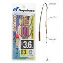 ハヤブサ(HAYABUSA) 淡水小物仕掛 池・川・小物 3.6m CA136 針3号-ハリス0.4号