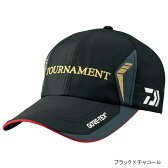 ダイワ(Daiwa) トーナメント ゴアテックス キャップ DC-1206 フリー ブラック×チャコール