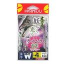 ハリミツ(HARIMITSU) 太刀魚 ケイムラ夜光ワイヤー仕掛 水平W P-46 4号