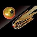 ジャッカル タングステン鯛カブラ ビンビン玉 スライド 120g オレンジゴールド/イカナゴールド