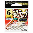 ささめ針(SASAME) キステック KQ−04 7号 20本入 茶