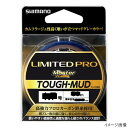 シマノ LIMITED PRO MASTER FLUORO TOUGH-MUD CL-I34Q 40m 4.0号 マッドグレー【ゆうパケット】