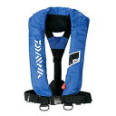 ダイワ(Daiwa) ウォッシャブルライフジャケット(肩掛けタイプ手動・自動膨脹式) DF−2005 フリー ブルー
