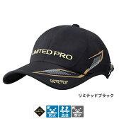 シマノ(SHIMANO) GORE-TEX レインキャップ LIMITED PRO(ツバワイドタイプ) CA-110P フリー リミテッドブラック