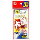 タカミヤ 大漁サビキ JI-104 針6号-ハリス1.5号 白スキン