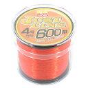 タカミヤ SmileShip ジャストライン 600m 4号 オレンジ