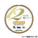 ダイワ(Daiwa) メガセンサー 12ブレイド 150m 3号 パープル/グリーン/ピンク/イエロー/スカイブルー