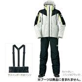 ダイワ(Daiwa) ゴアテックス プロダクツ コンビアップレインスーツ DR−1504 XL(LL) ライトグレー