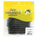 ゲーリーヤマモト(Gary YAMAMOTO) 4インチ ヤマセンコー 363(グリーンパンプキン/ブラック&スモールブルーフレーク)