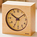 ★ギフト対応商品★【代引不可】Gクラッセ 置き時計 目覚まし時計 ウッド アラームクロック YT5224WH
