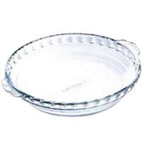アルキュイジーヌ オーブンウェア 耐熱ガラス製 ラウンドプレート 197BA00