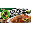 ハウス食品 ジャワカレー(中辛) 185g×10入