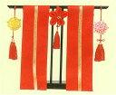 雛人形(ひな人形) 『花まり几帳』手作り几帳 和雑貨 なごみ かわいい  コンパクト  リュウコドウ ひなまつり