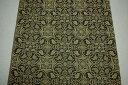 120cm×120cm西陣織 大判風呂敷(ふろしき)古代裂写し葡萄唐草文様 濃紺