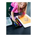 ショッピング絵の具セット 【IKEA Original】MALA-モーラ- 水彩絵の具ボックス アソートカラー 14カラー