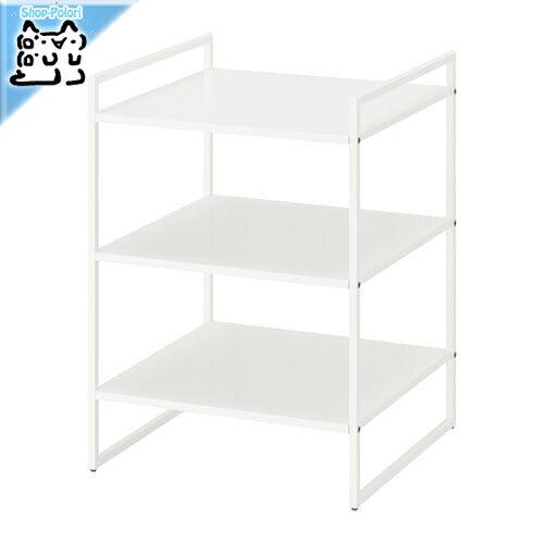 【IKEA Original】JONAXEL -ヨナクセル- シェルフユニット ホワイト 50x51x70 cm