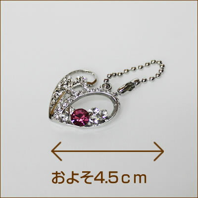 M / in accessory gorgeous heart Ruby / Rainbow / 5,000 yen or more