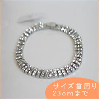 Tri-ring accessory silver and Rainbow and neck circumference up to 23 cm until stay at more than 5000 Yen / /