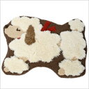 Cute mat poodle [poodle / miscellaneous goods / mat / doorstep / rag / interior / hand-washing / goods / dog / dog]