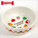 【PP】フードディッシュ トロピカルフルーツ(9441)【食器】【フードボウル】 犬 ドッグ ペット フードディッシュ 犬用食器 犬用皿