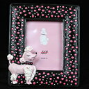 Poodle Photo frame C type プードル/雑貨/置物/グッズ/犬/ドッグ