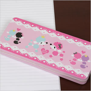 Fashionable poodle pen case
