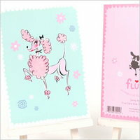 Fluff ( fluff ) Poodle greeting cards ( Birthday )