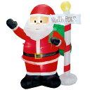 エアブロー サンタ&ノースポール クリスマス(Xmas)エアPOP