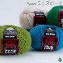 毛糸 ポイント10倍 極太 パピー ミニスポーツ 色番420〜700 毛・メリノ 101 在庫商品