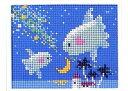手芸 KIT スキー毛糸の元廣 MG61 夜空のマンボウ 1ケ ビーズ手芸【取寄商品】