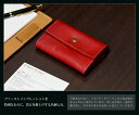 庄帆布 ORICE/ Ollie Che leather card case (red) [sokunou] [easy ギフ _ packing] of the tree