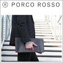 【全品ポイント10倍】PORCO ROSSO(ポルコロッソ)リバーシブルクラッチ/革/本革/レザー/クラッチバッグ/セカンドバッグ/ビジネス