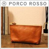 PORCO ROSSO(ポルコロッソ)ダックテールポーチ(Mサイズ)革/本革/レザー/ポーチ