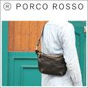 【全品ポイント10倍!】PORCO ROSSO(ポルコロッソ)薄マチクロスボディバッグ/レザー/本革/ショルダーバッグ/ボディバッグ