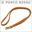 PORCO ROSSO(ポルコロッソ)ネックストラップ/レザー/本革/IDカード/ストラップ/ネックストラップ/即納/動画あり