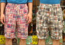 "【送料無料】 SUGAR CANE(シュガーケーン) SUGAR CANE Light ""MADRAS CHECK PATCHWORK EASY SHORTS"" SC51528 【あす楽対応_関東】【.."