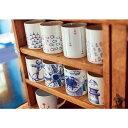 ショッピングマグカップ シーガルマグ ブルー&レッド