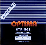【メール便対応商品】OPTIMA オプティママンドリン弦 BLACK 2A