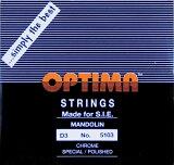 【メール便対応商品】OPTIMA オプティママンドリン弦 BLACK 3D <2本パック>