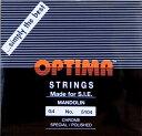 【メール便対応商品】OPTIMA オプティママンドリン弦 BLACK 4G 2本セット