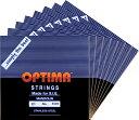 【メール便対応商品】OPTIMA オプティママンドリン弦 BLACK SET