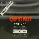 【メール便対応商品】OPTIMA オプティママンドチェロ弦 BLACK 2D