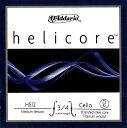 【メール便対応商品】Helicore ヘリコアチェロ弦 2D 3/4〜1/8サイズ