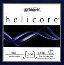 【メール便対応商品】Helicore ヘリコアチェロ弦 4C 3/4〜1/8サイズ